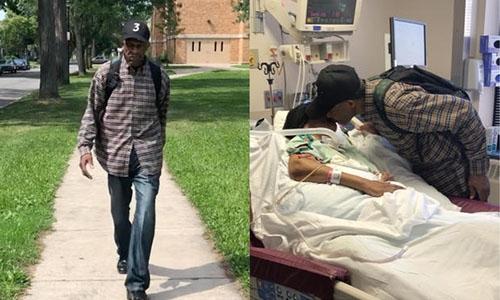 Chồng 98 tuổi mỗi ngày đi bộ gần 20 km tới bệnh viện thăm vợ 3