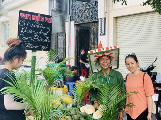 Chiếc xe bán trái cây miệt vườn độc nhất vô nhị Việt Nam 6