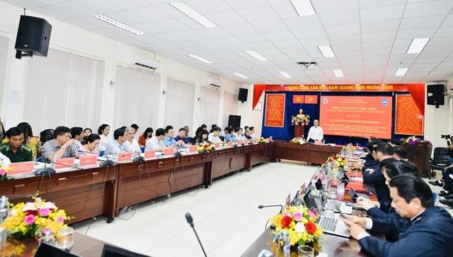 Bí thư Thành ủy Nguyễn Thiện Nhân khen ngợi Đề án tạo thuận lợi thương mại của Cục Hải quan TP.HCM. 2