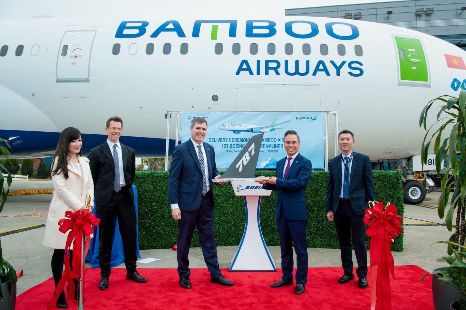 """Ngắm Boeing 787-9 Dreamliner """"đỉnh của đỉnh"""" mà Bamboo sắp đưa vào khai thác 22"""