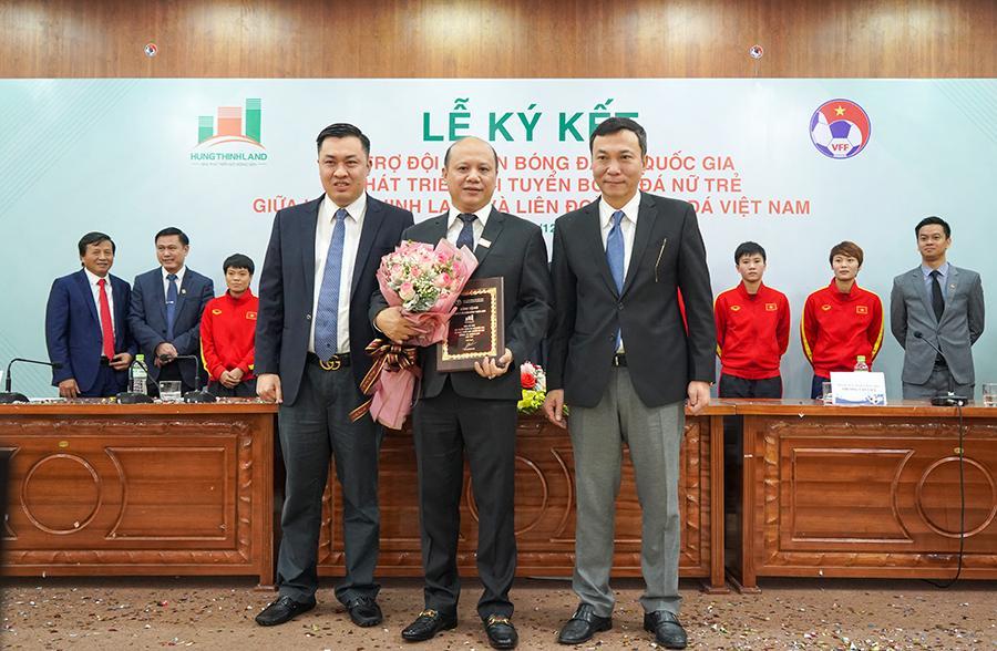 Hưng Thịnh Land tài trợ 100 tỷ đồng cho Đội tuyển bóng đá nữ Quốc gia và Phát triển Đội tuyển nữ trẻ hướng đến World Cup 2