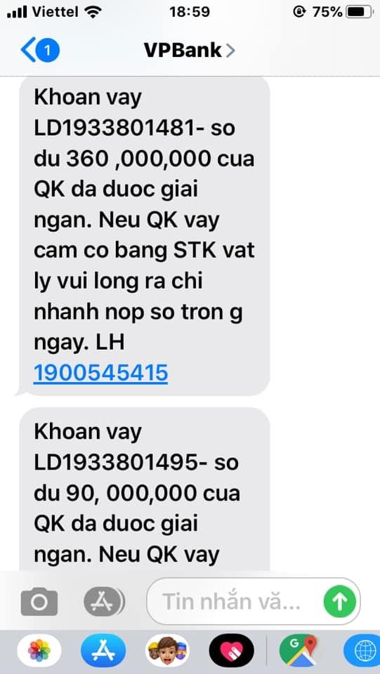 Giả trang web ngân hàng VP Bank, lừa tiền khách hàng tinh vi 6