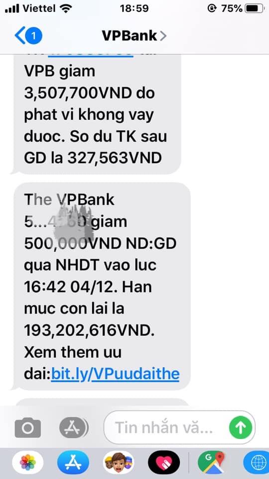 Giả trang web ngân hàng VP Bank, lừa tiền khách hàng tinh vi 5