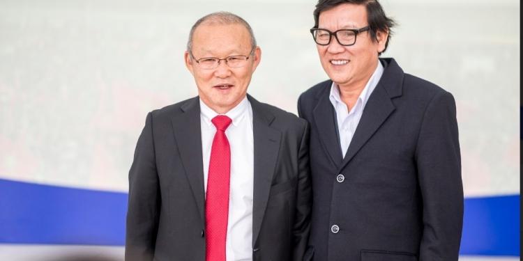 Nhà văn Nguyễn Một và HLV Park Hang Seo