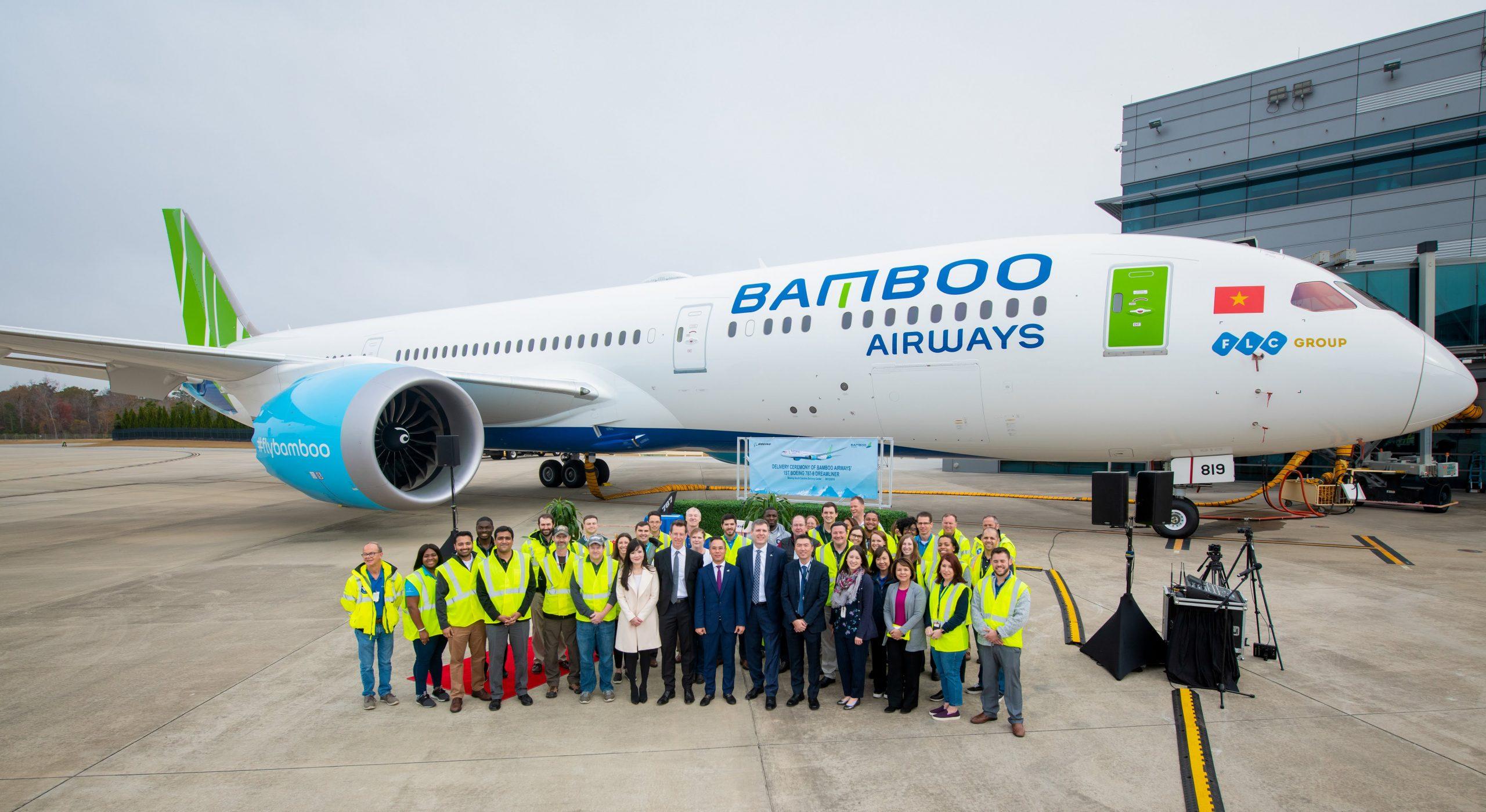 Bamboo Airways sẽ khai thác 4 máy bay Boeing 787-9 Dreamliner 2