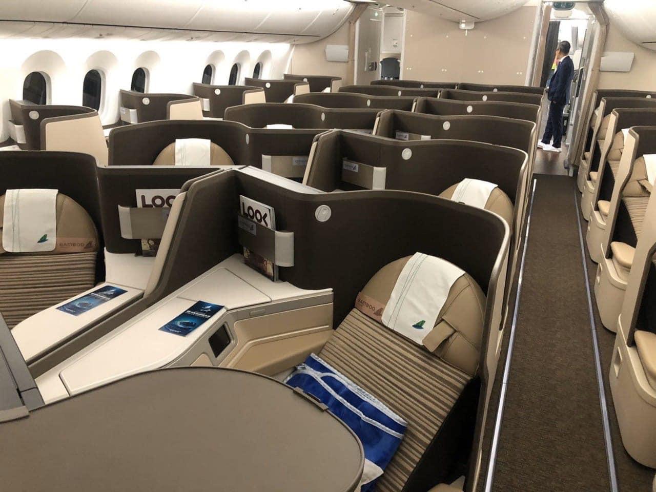 """Ngắm Boeing 787-9 Dreamliner """"đỉnh của đỉnh"""" mà Bamboo sắp đưa vào khai thác 26"""
