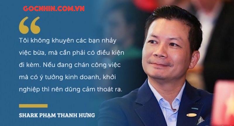 Khởi nghiệp: Nghe Shark Hưng hay Shark Việt? 10