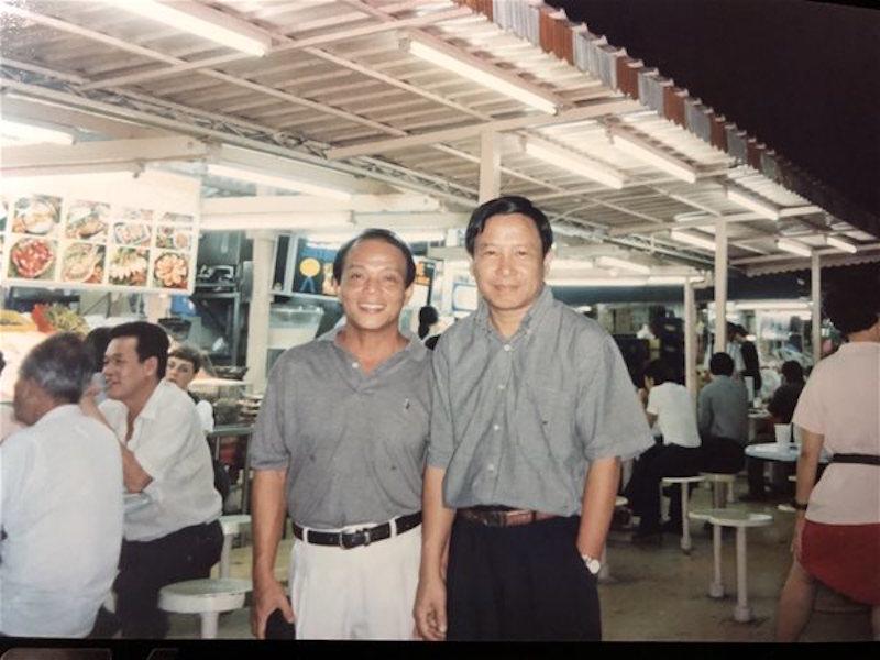 Cố nhà báo Võ Như Lanh va nhà báo Trần Ngọc Châu tại Jakarta 16/2/1999 (mồng 1 tết Kỷ hợi)