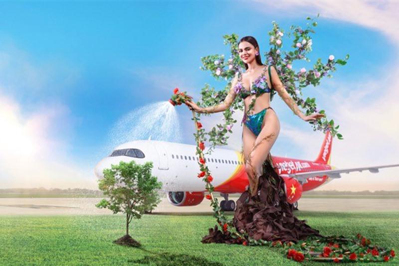 """Bộ lịch Tết 2020 """"nóng"""" muốn hỏng mắt của Vietjet 20"""