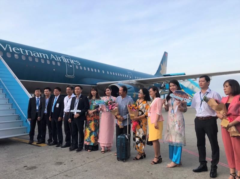 Đà Nẵng chào đón chuyến bay đầu tiên đến Đà Nẵng trong năm Canh Tý 2020 8