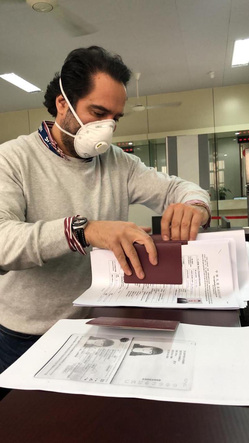 """Xuất hiện đại gia hỗ trợ thúc đẩy cấp visa cho đoàn tình nguyện Bồ Đào Nha bay từ Việt Nam đến Vũ Hán """"giải cứu"""" công dân Châu Âu 16"""