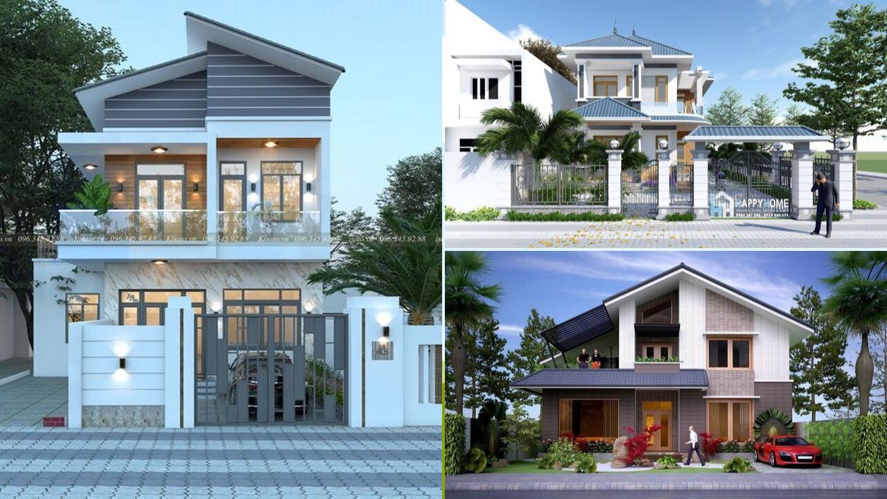 Những mẫu nhà đẹp, độc đáo, không cần cao, chỉ cần 2 tầng thế này là đủ ! 46