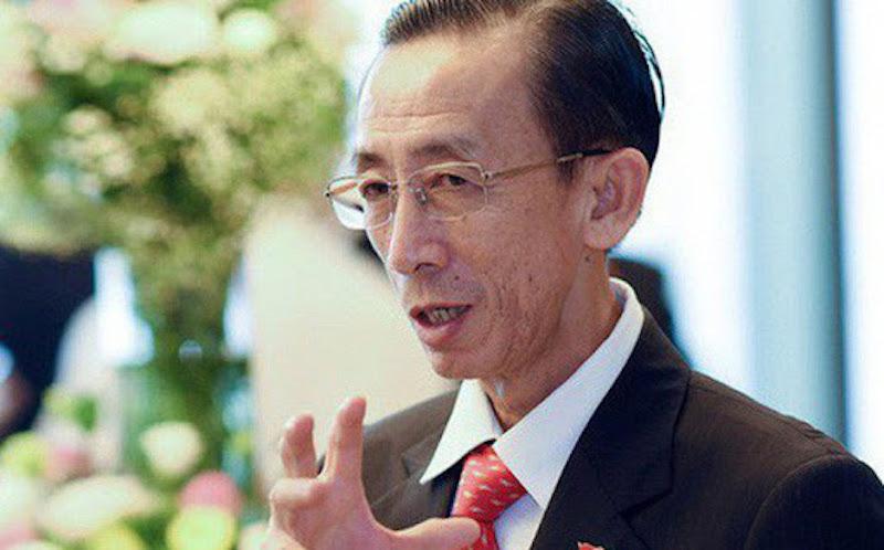 Ông Trần Hoàng Ngân, viện trưởng Viện Nghiên cứu phát triển TPHCM