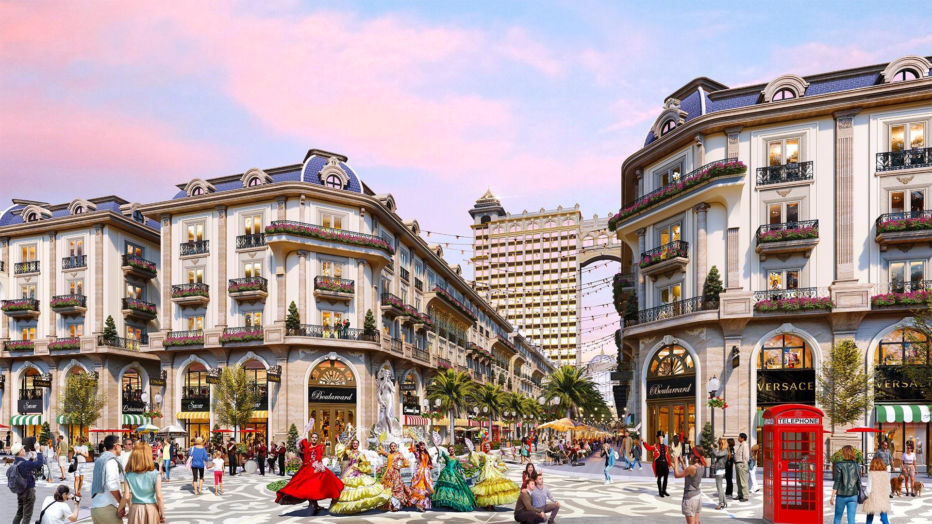 Khám phá tuyến phố đi bộ thương mại đẳng cấp châu Âu tại Khu Đông Sài Gòn 14