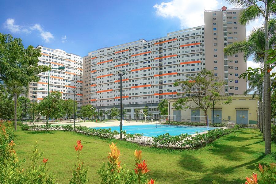 Cùng nhìn ngắmhình ảnh thực tế Khu căn hộ 9View 9