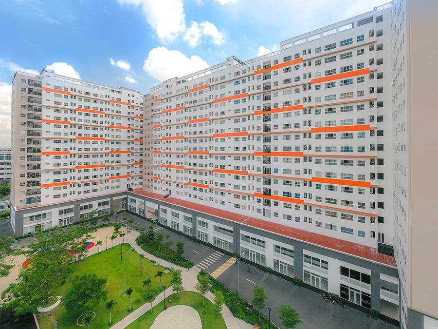 Cùng nhìn ngắmhình ảnh thực tế Khu căn hộ 9View 10