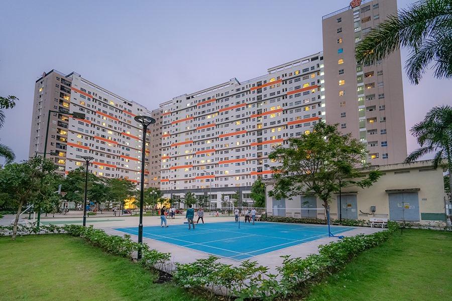 Cùng nhìn ngắmhình ảnh thực tế Khu căn hộ 9View 11
