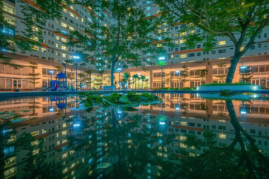 Cùng nhìn ngắmhình ảnh thực tế Khu căn hộ 9View 14