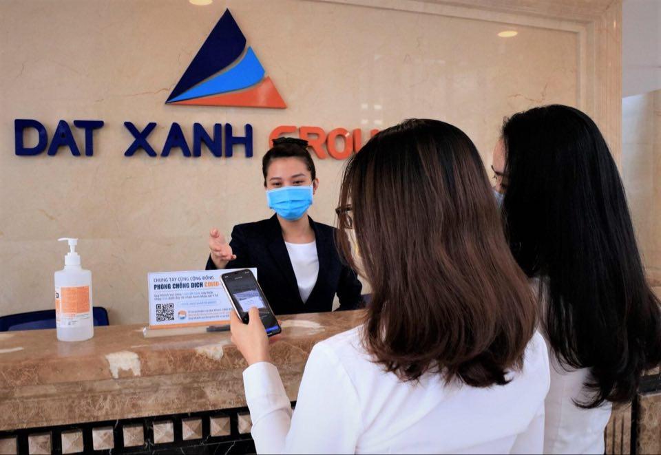 Tập đoàn Đất Xanh giảm 50% giá thuê mặt bằng và chủ động phòng chống dịch Covid-19 3