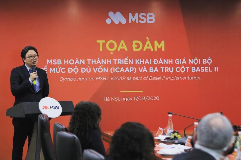 MSB hoàn thành 3 trụ cột của Basel II 6