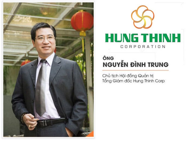 Chân dung vị doanh nhân Nguyễn Đình Trung, Chủ tập đoàn Hưng Thịnh, đơn vị đã có nhiều đóng góp thiết thực cho đất nước trong thời gian qua