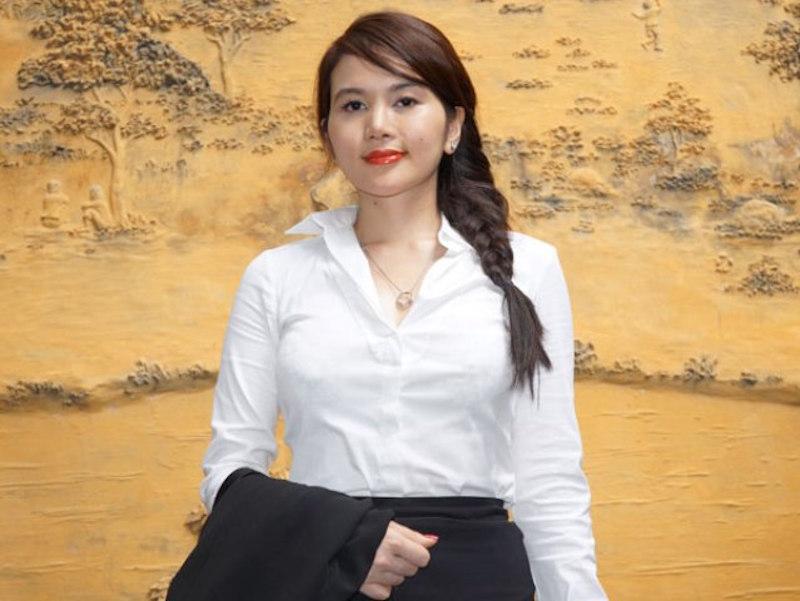 Chị Nguyễn Thị Tường Vi - Giám đốc Công ty TNHH Sản xuất Thương mại XNK Vi Nguyễn
