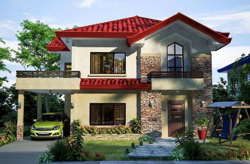 Những mẫu nhà đẹp, độc đáo, không cần cao, chỉ cần 2 tầng thế này là đủ ! 31