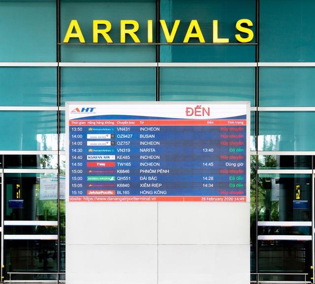 Từ 1/4, sân bay Đà Nẵng tắt loa thông báo chuyến bay 3