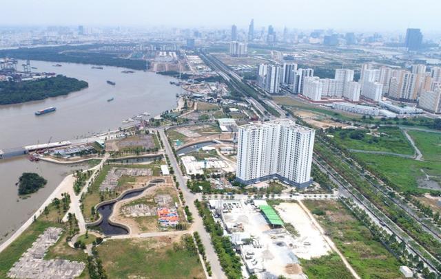 Dự án 30,2ha tại phường Bình Khánh (quận 2) mà chủ tịch Novaland vừa viết đơn kêu cứu đúng ngày mùng 1 Tết.