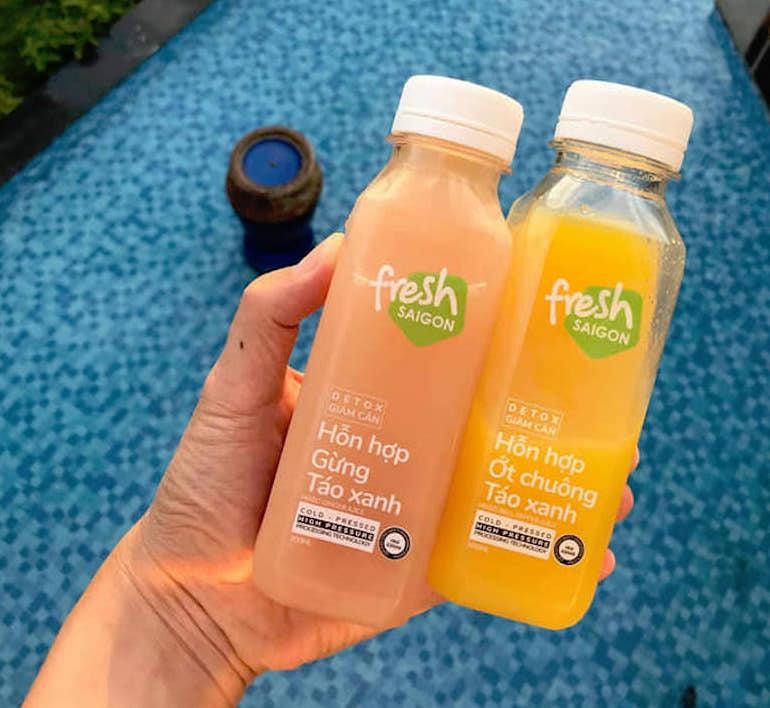 Tặng hơn 200 chai nước ép Freshsaigon nguyên chất cho y bác sĩ và ca cách ly 3