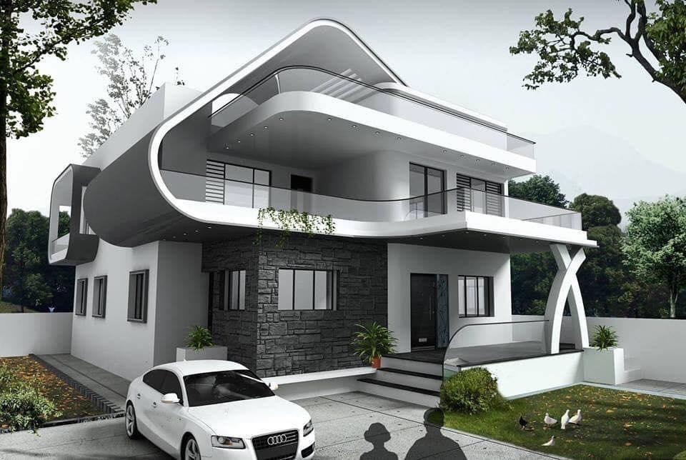 Những mẫu nhà đẹp, độc đáo, không cần cao, chỉ cần 2 tầng thế này là đủ ! 32