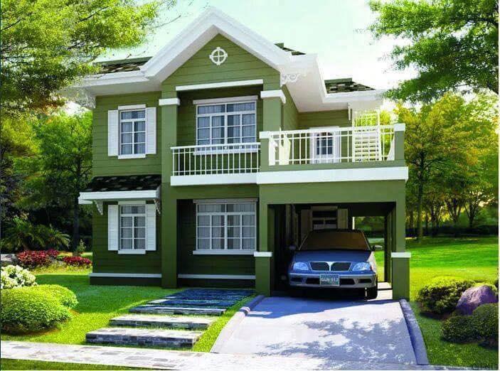 Những mẫu nhà đẹp, độc đáo, không cần cao, chỉ cần 2 tầng thế này là đủ ! 45