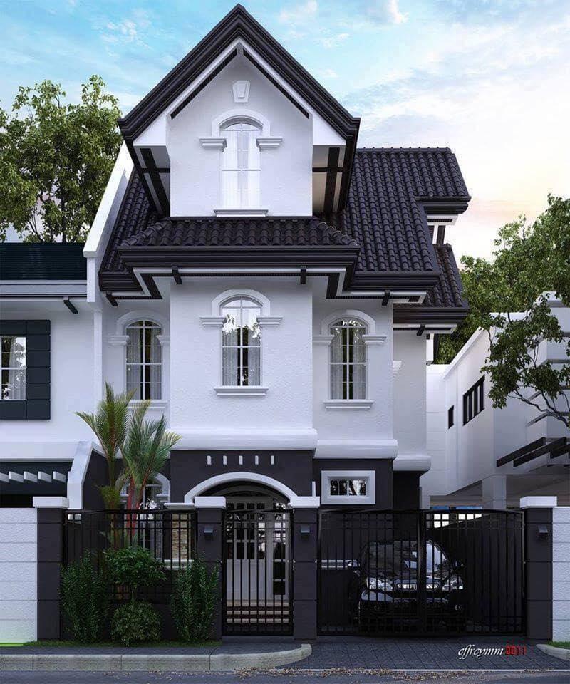 Những mẫu nhà đẹp, độc đáo, không cần cao, chỉ cần 2 tầng thế này là đủ ! 34