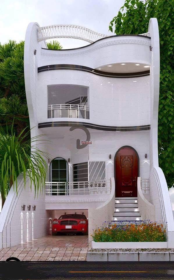 Những mẫu nhà đẹp, độc đáo, không cần cao, chỉ cần 2 tầng thế này là đủ ! 38