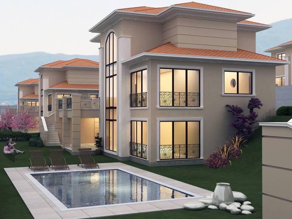 Những mẫu nhà đẹp, độc đáo, không cần cao, chỉ cần 2 tầng thế này là đủ ! 39