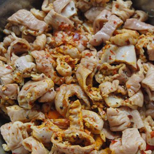 Lòng heo xào nghệ, Đặc sản xứ Quảng, Ẩm thực miền Trung, Món ngon mỗi ngày