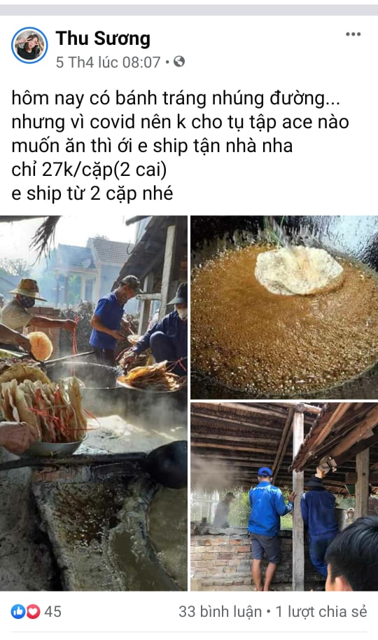 Bánh tráng nhúng đường tại Quảng Nam: Ngọt ngào nhưng cũng nhiều thăng trầm 11