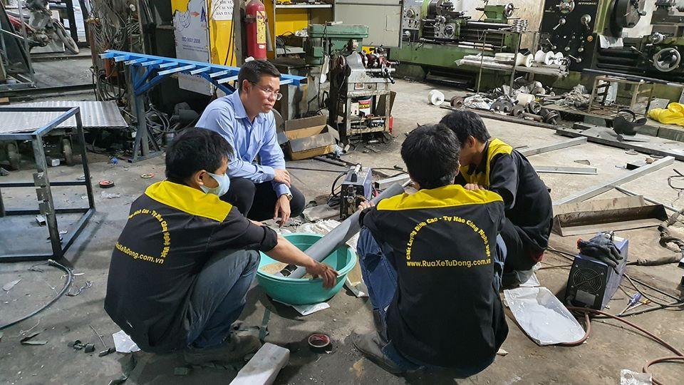 Thêm một đơn vị tuyên bố tài trợ 11 máy phát gạo tự động Aloda 12