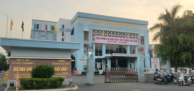 Bệnh viện Đa khoa Gò Vấp. Nguồn ảnh: TNO