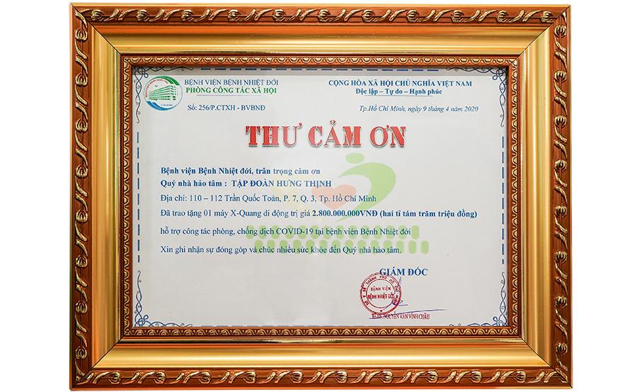 Tập đoàn Hưng Thịnh trao tặng máy X-Quang trị giá 2,8 tỷ đồng cho Bệnh viện Bệnh Nhiệt đới TP.HCM 6
