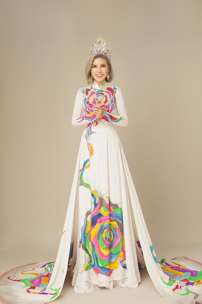 Hoa hậu KimMy Bùi và nghĩa cử cao đẹp giữa mùa dịch 9