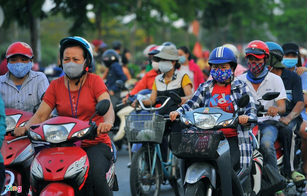 """Đường phố Sài Gòn dường như đang dần trở về đúng """"bản chất"""" trong thời gian cách ly toàn xã hội 60"""