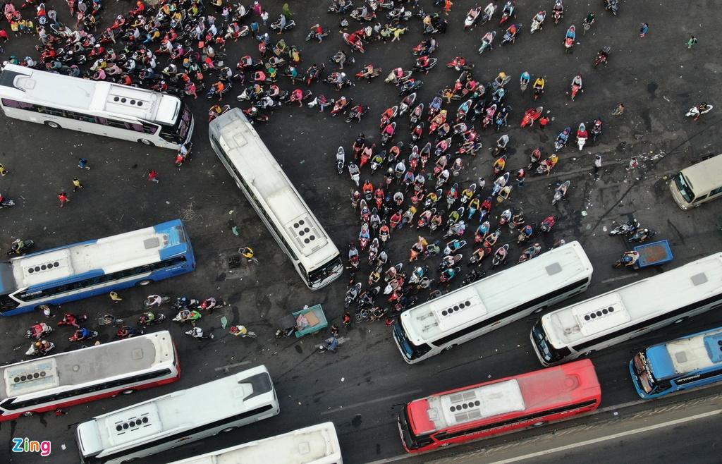 """Đường phố Sài Gòn dường như đang dần trở về đúng """"bản chất"""" trong thời gian cách ly toàn xã hội 58"""