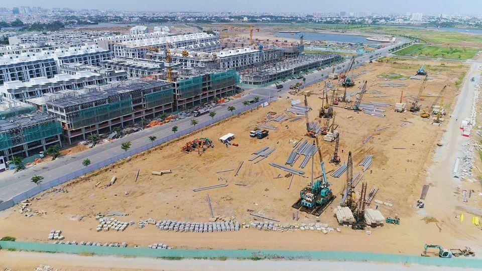 Khu đô thị Vạn Phúc: Cập nhật tiến độ thi công dự án trong Quý II/2020 11