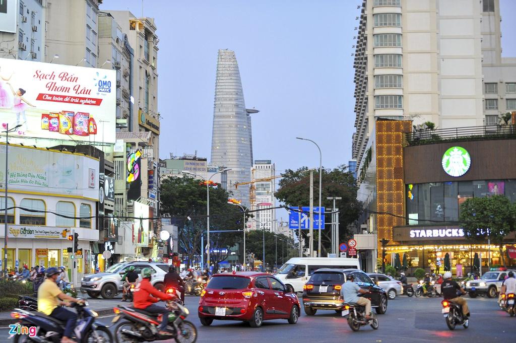 """Đường phố Sài Gòn dường như đang dần trở về đúng """"bản chất"""" trong thời gian cách ly toàn xã hội 45"""