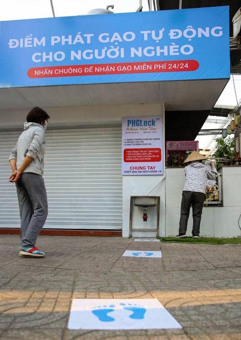 """ATM """"Gạo"""": Phát minh của lòng nhân ái 15"""