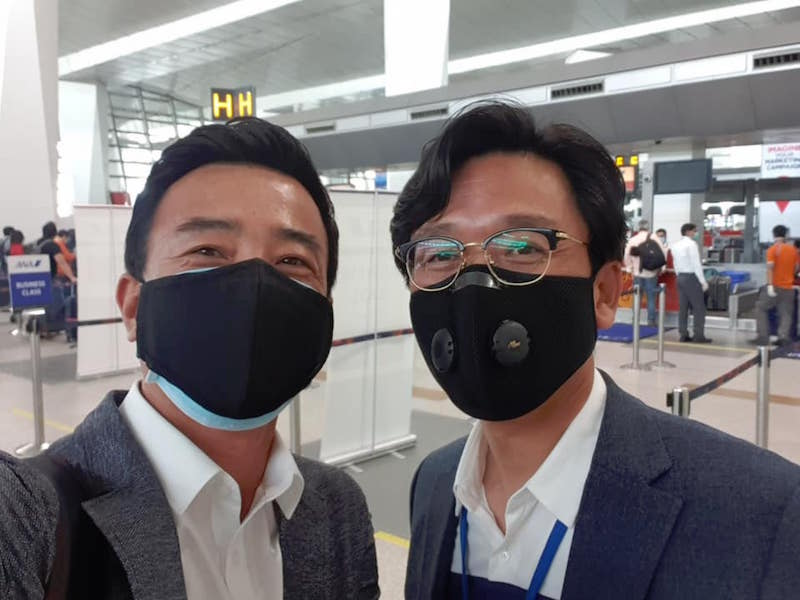 Đại sứ Phạm Sanh Châu và chàng rể Việt Nam gốc Hàn Quốc Park Gong Hee