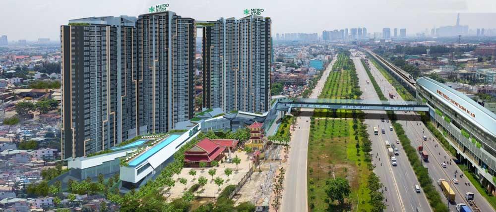Phối cảnh dự án căn hộ Metro Star Quận 9. Nguồn ảnh: Internet