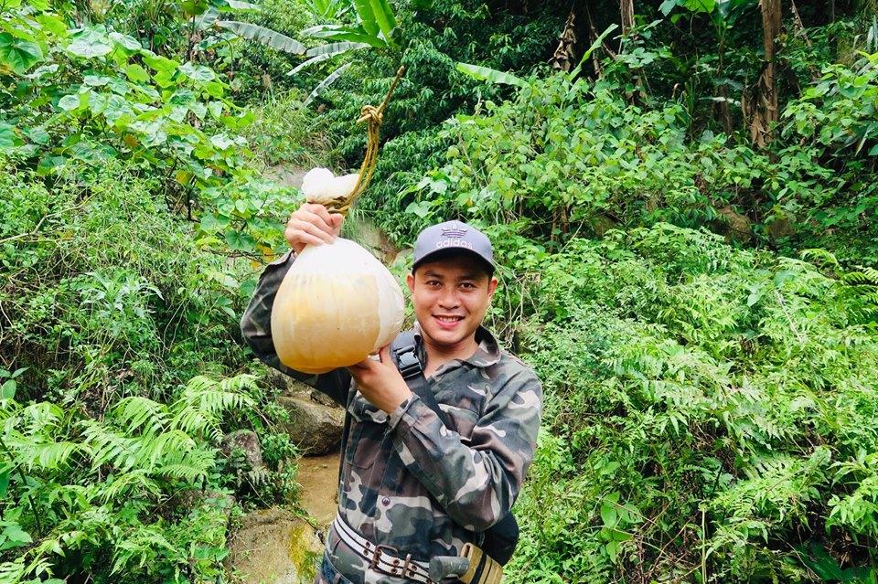 Chàng trai Nguyễn Trung Úy (30 tuổi ở xã Sơn Kim 1, huyện Hương Sơn, tỉnh Hà Tĩnh)