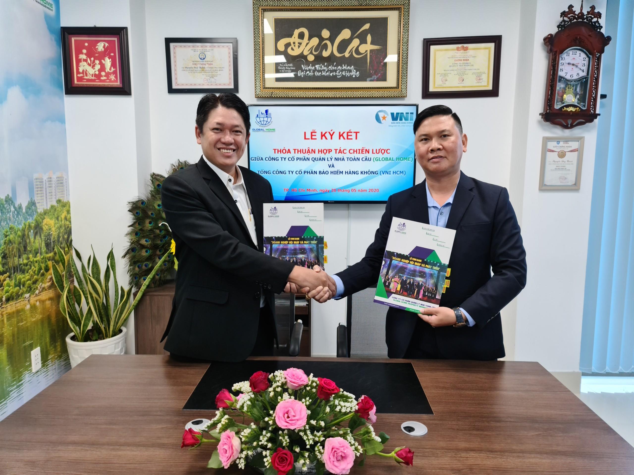 Global Home ký kết thỏa thuận hợp tác chiến lược phân phối bảo hiểm cho cư dân sống tại chung cư 3